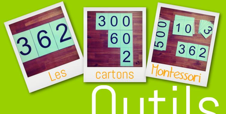 Outils – Les cartons Montessori