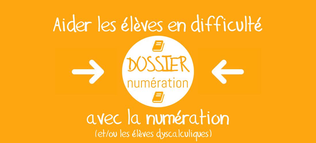 Dossier numération – Sommaire